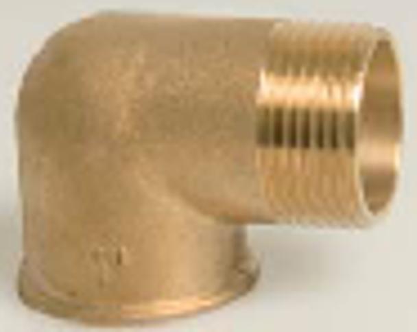 Brass Threaded Male/Female M/F Elbow 90°