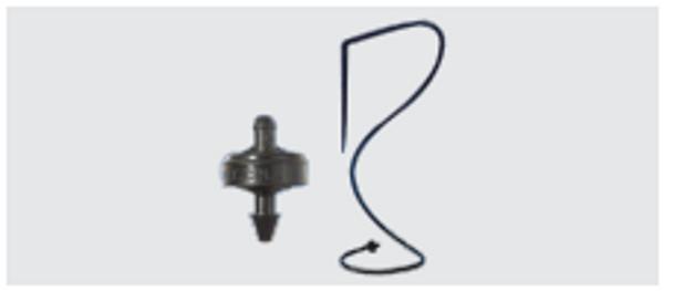 Netafilm PCJ Pressure Compensated Dripper, 80cm lead, Prevo Stake