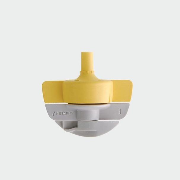 Netafim Mirconet Sprinkler- Spinnet Head Only