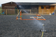 Hosereel Irrigator Arena Watering System up to 20mtrs x 40mtrs