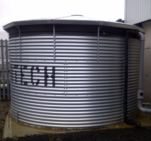 Galvanised Tank with Greenseal EDPM 1mm Liner