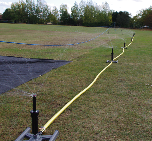Watering Systems for one Cricket Wicket