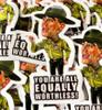 R Lee Ermey Sticker