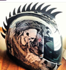 MOTORCYCLE HELMET SAW BLADE WARHAWK MOHAWK from Eric Peterson