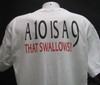 a 10 is a 9 the swallows white shirt