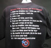 Rules for Dating my Daughter Black T-shirt