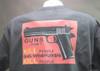 Guns Don't Kill People Crazy Mother Fuckers Kill People w/45 T-Shirt