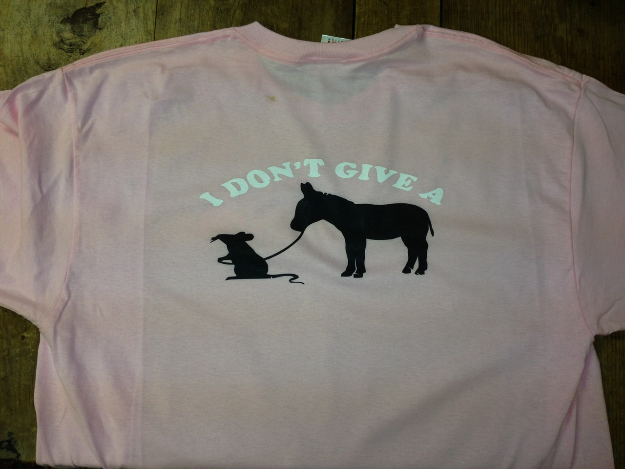 I Don/'t Give A Rat/'s Graphic T-Shirt XX-Large