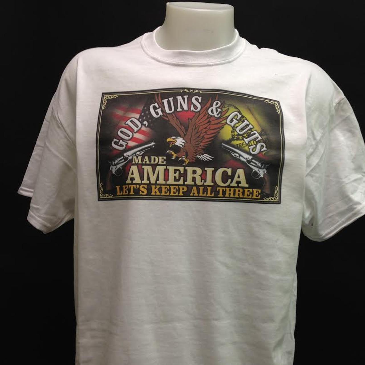 bf5843cf0 God, Guns & Guts Shirt and motorcycle shirts