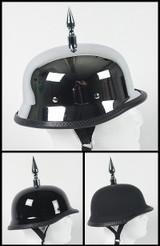 Spiked German Motorcycle Helmet