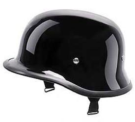 DOT German Gloss Motorcycle Helmet