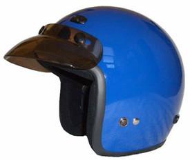 Blue Motorcycle Helmet