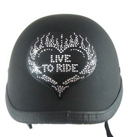 Live to Ride Helmet Patch