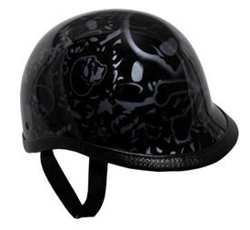 BoneYard Purple Jockey Polo Novelty Motorcycle Helmet