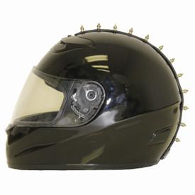 Metal Motorcycle Helmet Mohawk