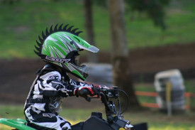 Saw Blade Warhawks make your kid stand out in a race