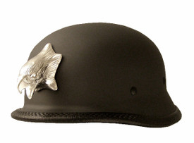 Chrome Eagle Motorcycle Helmet Attachment