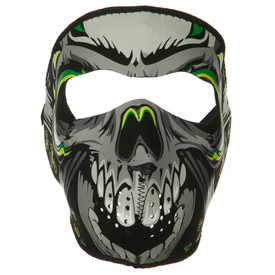 Lethal Threat Neon Skull Face Mask