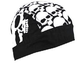 Skull Head Do-Rag Flydanna