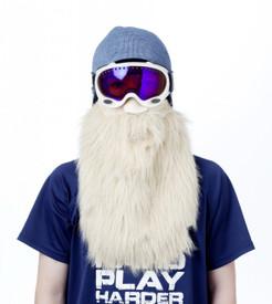 Blonde Beard Face Mask action shot