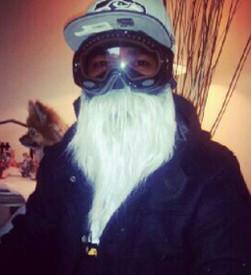 Blonde Beard Face Mask