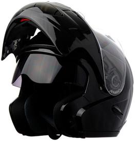 DOT Double Retractable Visor Modular Motorcycle Helmet