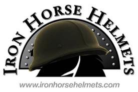 DOT German Leather Motorcycle Helmet