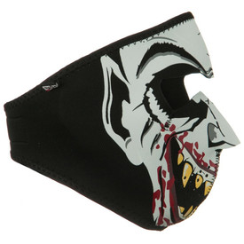 Glow in the Dark Vampire Neoprene Face Mask Right Side
