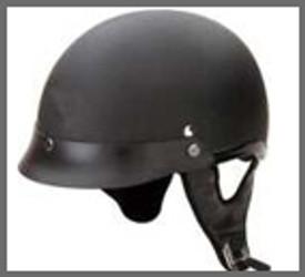 Flat Black Motorcycle Helmet
