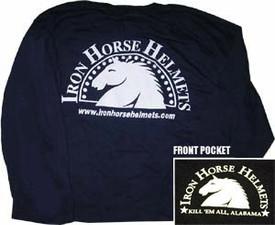 Blue Iron Horse Helmets T-shirt