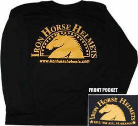 Black Iron Horse Helmets T-shirt