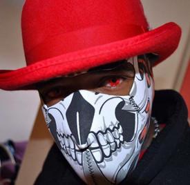 Tribal Skull Neoprene Face Mask