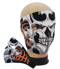 Tribal Skull Neoprene Face Masks