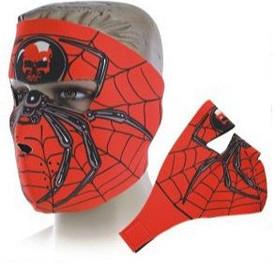 Spider Neoprene Face Masks
