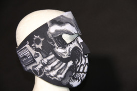 Back of Assassin Face Mask