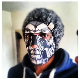 Assassin Neoprene Face Mask image sent to us by Preston Penick