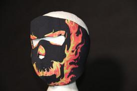 Blackout Skull  FaceMask