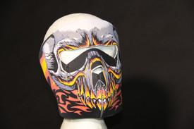 Red Evil Skull Neoprene Face Masks