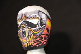 Red Evil Skull Face Mask