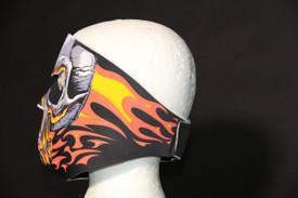 Red Evil Skull Face Masks
