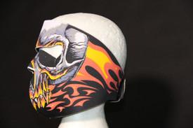 Red Evil Skull Neoprene FaceMask