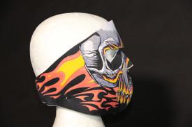 Red Evil Skull Neoprene FaceMasks