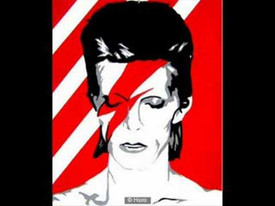 We stole this idea from you Mr. David Bowie.