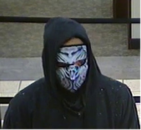 The Bio-Mechanical Neoprene Face Mask used in a real bank robber