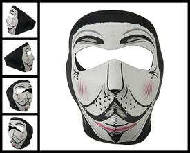 Neoprene Full Face Mask - Vendetta