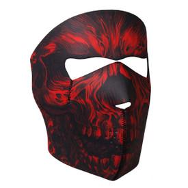 Red Shredder Neoprene Face Mask