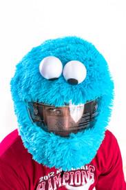 Cake Freak helmet cover