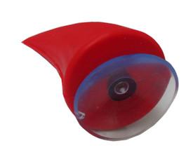 Red helmet horns