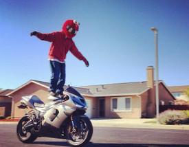 Cool Cartoon Motorcycle Helmet Cover