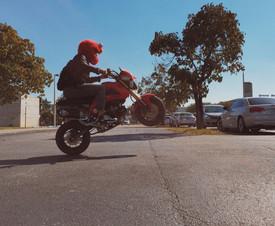 Cartoon Motorcycle Helmet Cover